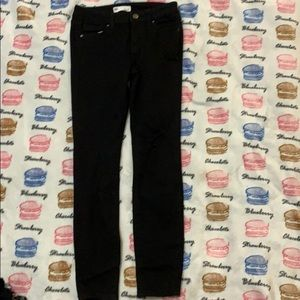 girls rsq black ripped jeans